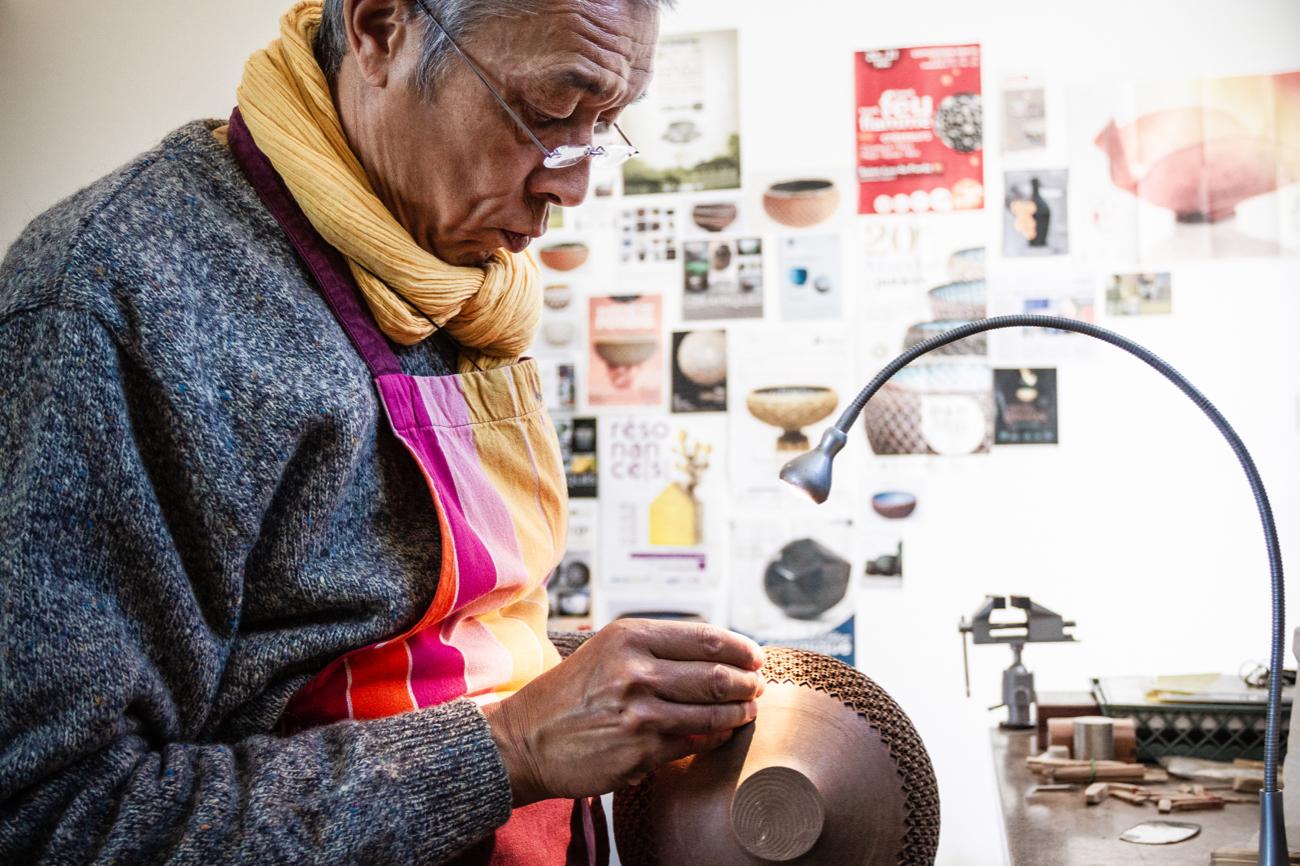 Thierry Luang-Rath, le poinçonneur de Saint-Jean-la-Poterie