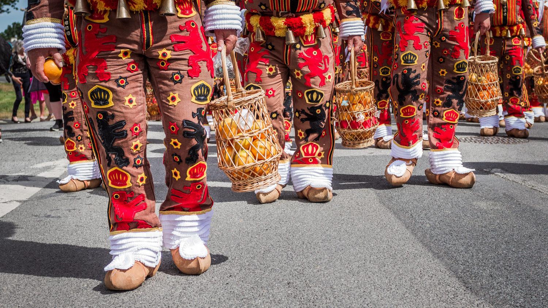 Les Gilles de Courcelles fêtent 60 ans de jumelage avec Guéméné-Penfao