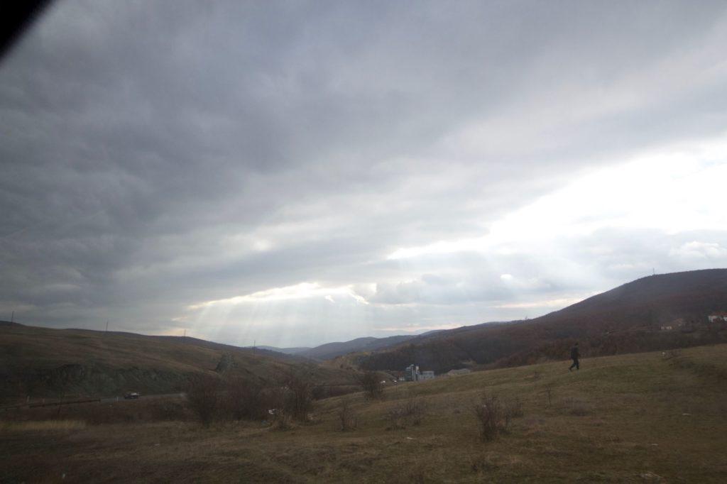 Paysan au Kosovo