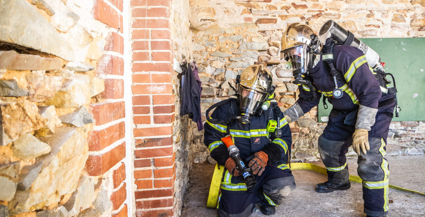 Pompiers-plesse - Couverture